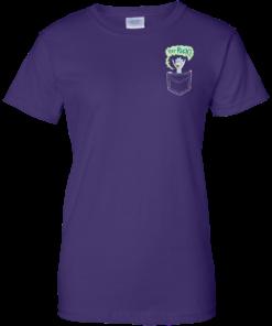 image 906 247x296px Rick and Morty: Tiny Rick Pocket T Shirt