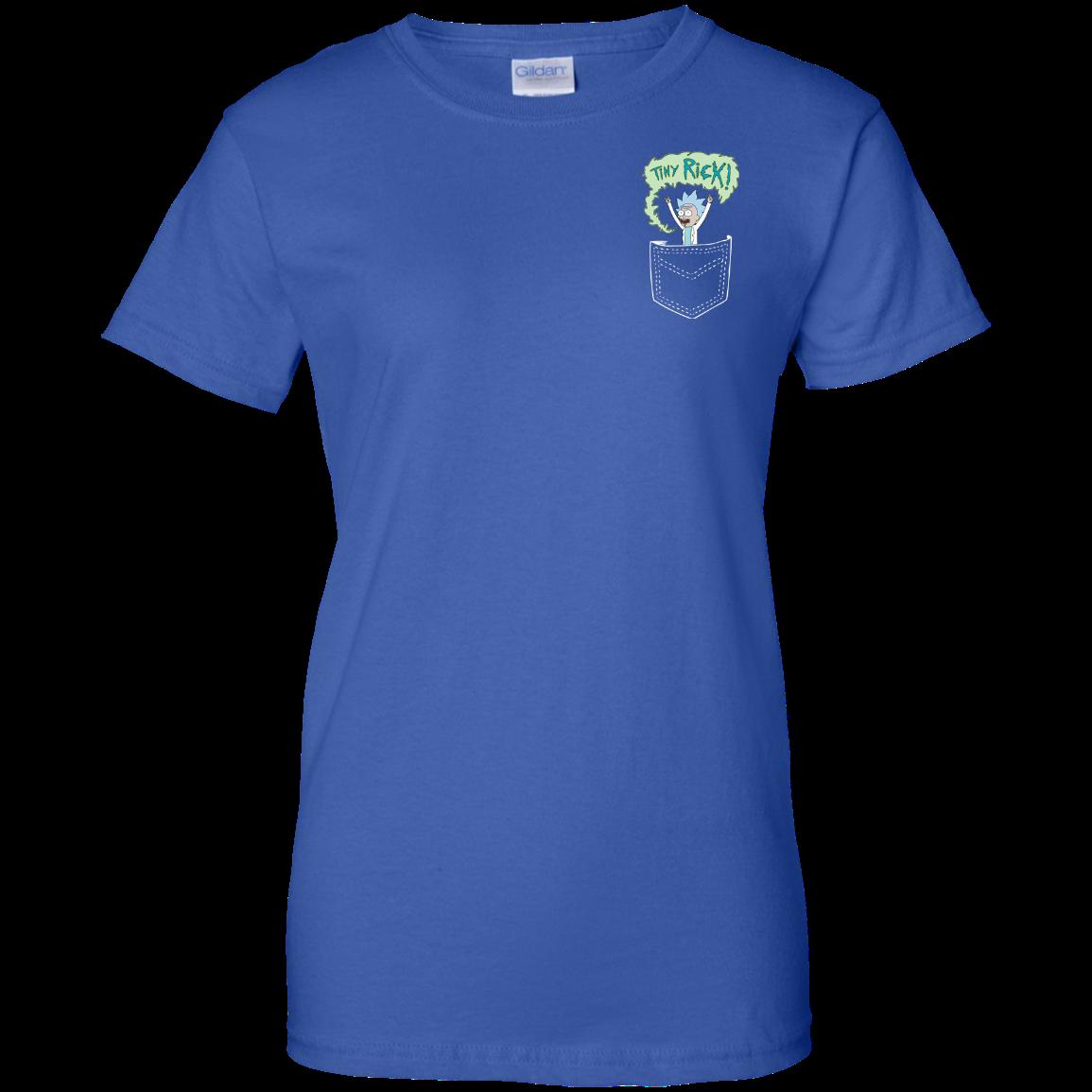 image 907px Rick and Morty: Tiny Rick Pocket T Shirt