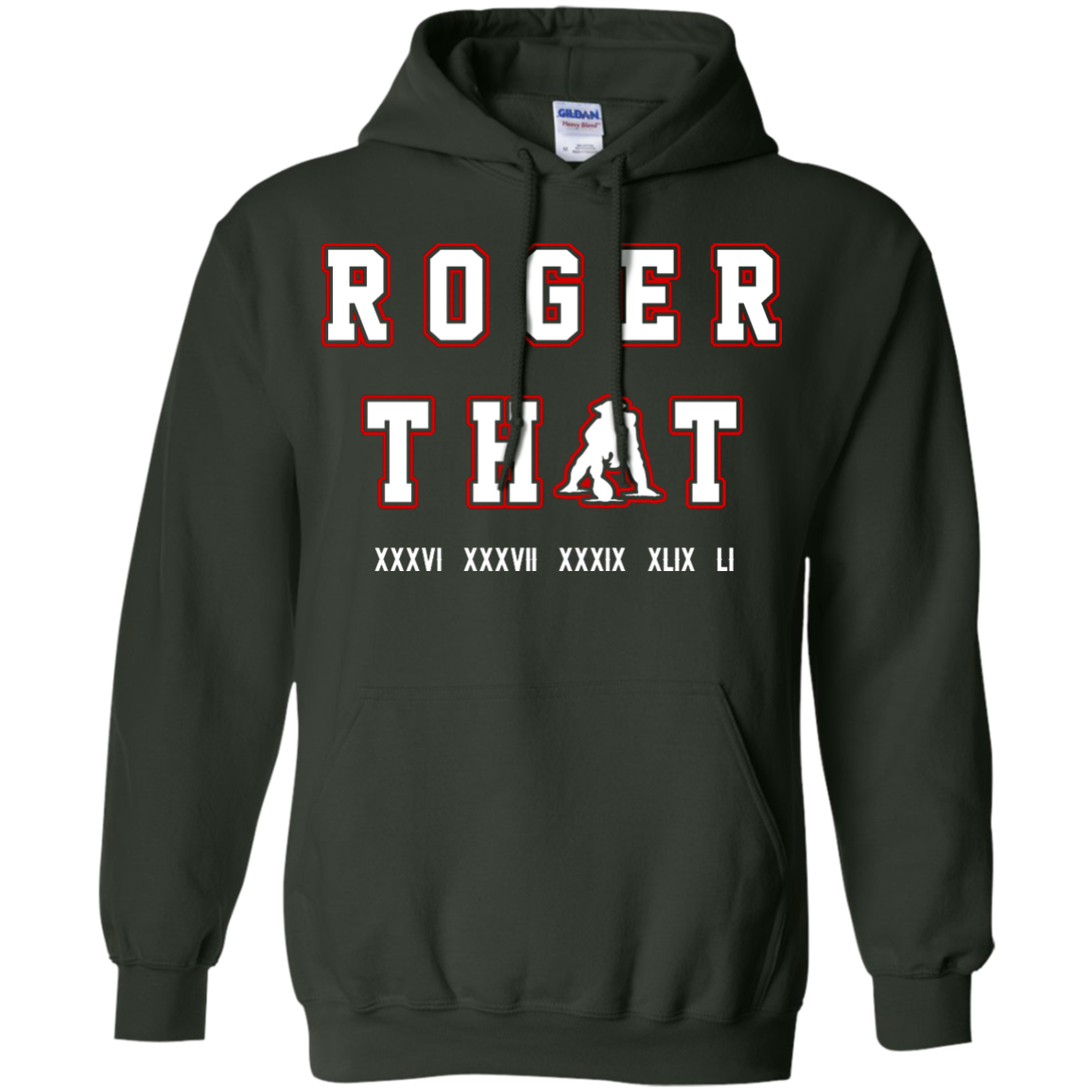 image 91px Tom Brady Shirt: Roger that T Shirt, Hoodies, Tank Top