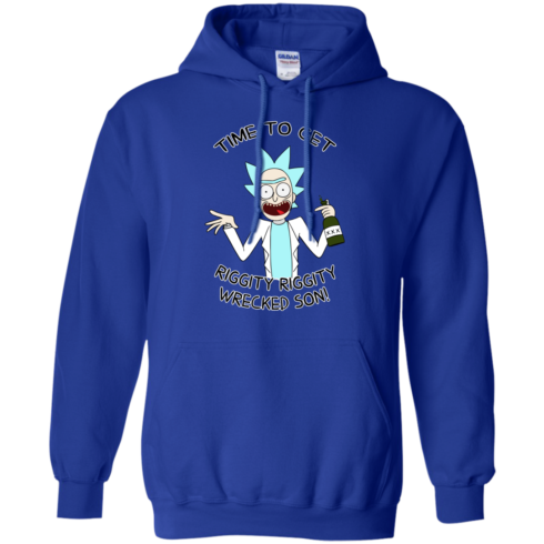 image 915 490x490px Time to get riggity riggity wrecked son T shirt