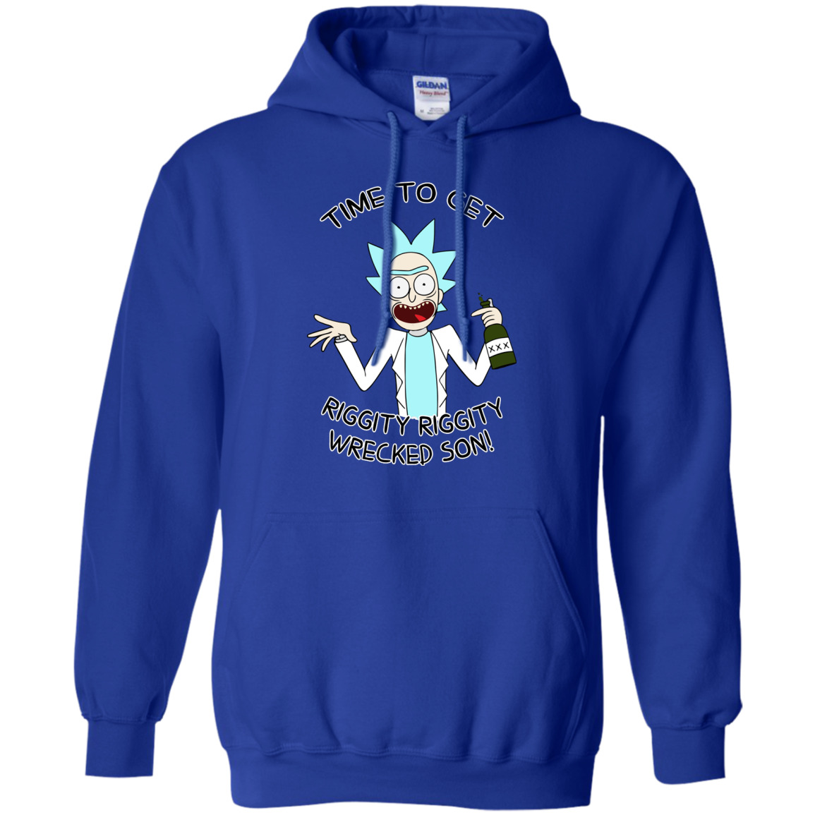 image 915px Time to get riggity riggity wrecked son T shirt