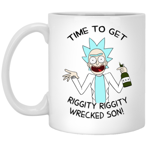 image 919 490x490px Time To Get Riggity Riggity Wrecked Son Mug Coffee