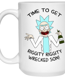 image 920 247x296px Time To Get Riggity Riggity Wrecked Son Mug Coffee