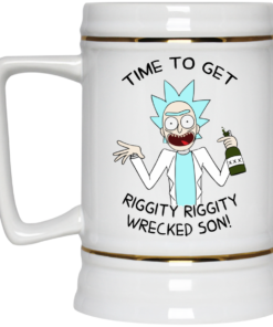 image 921 247x296px Time To Get Riggity Riggity Wrecked Son Mug Coffee