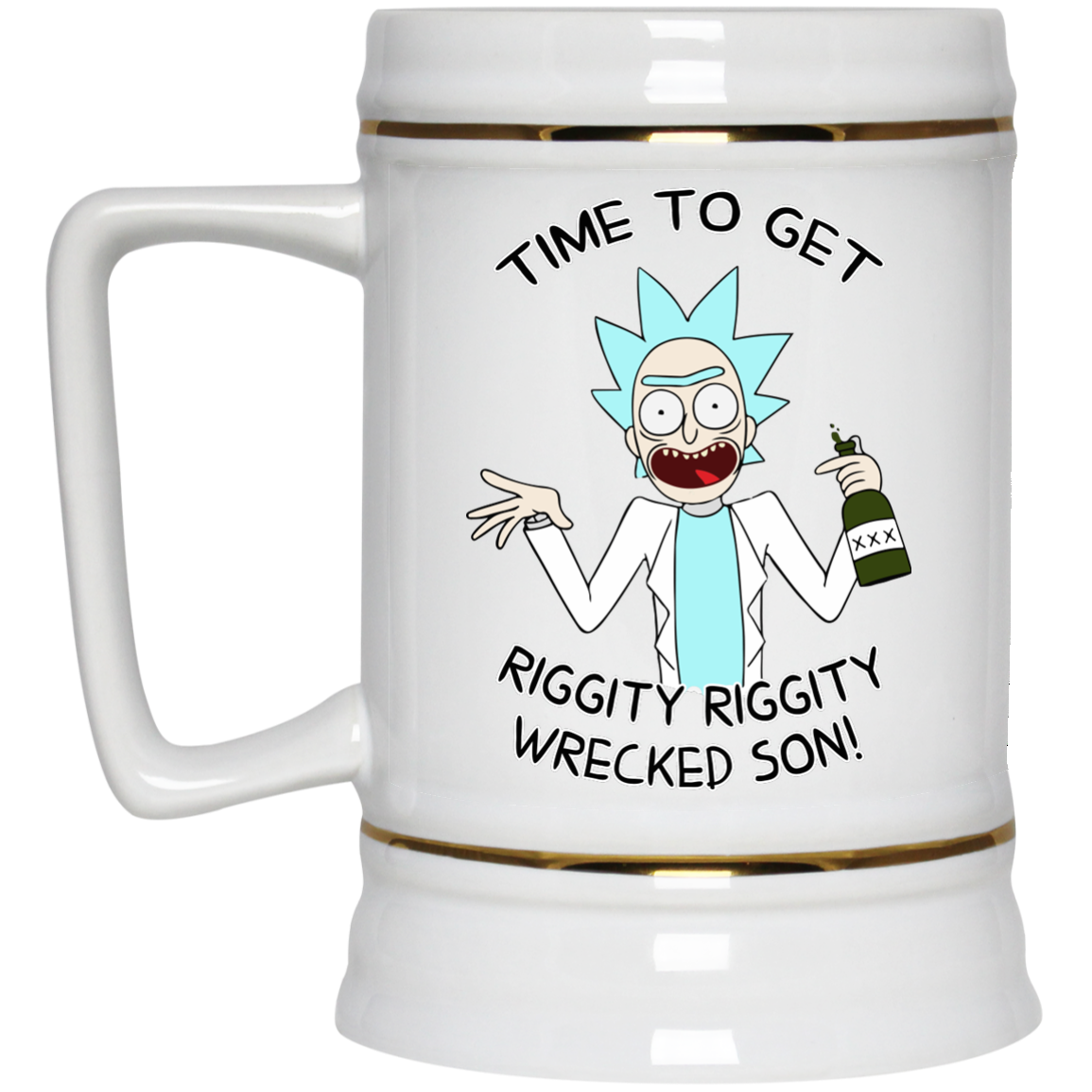 image 921px Time To Get Riggity Riggity Wrecked Son Mug Coffee