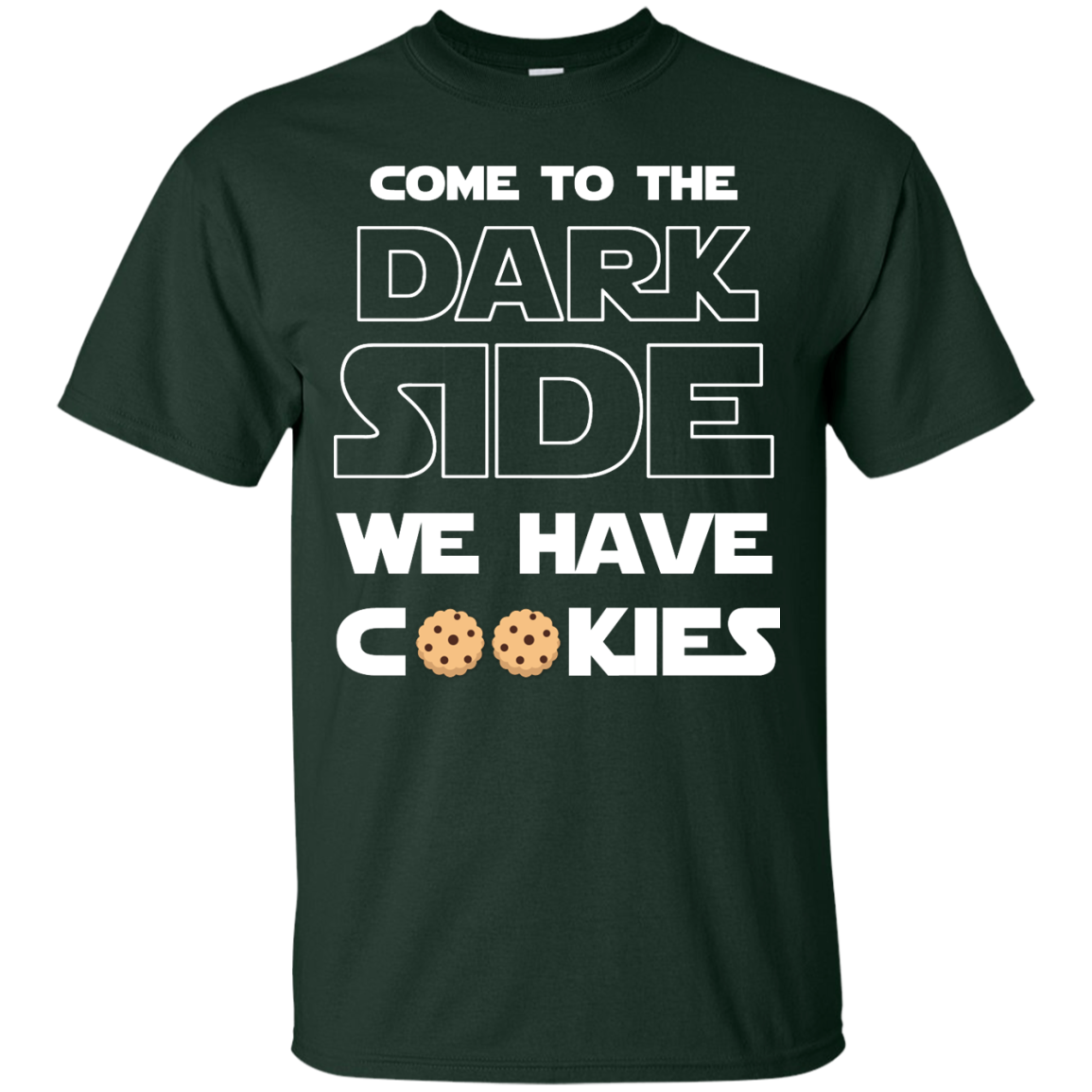 image 924px Star Wars: Come To The Dark Side We Have Cookies T Shirt
