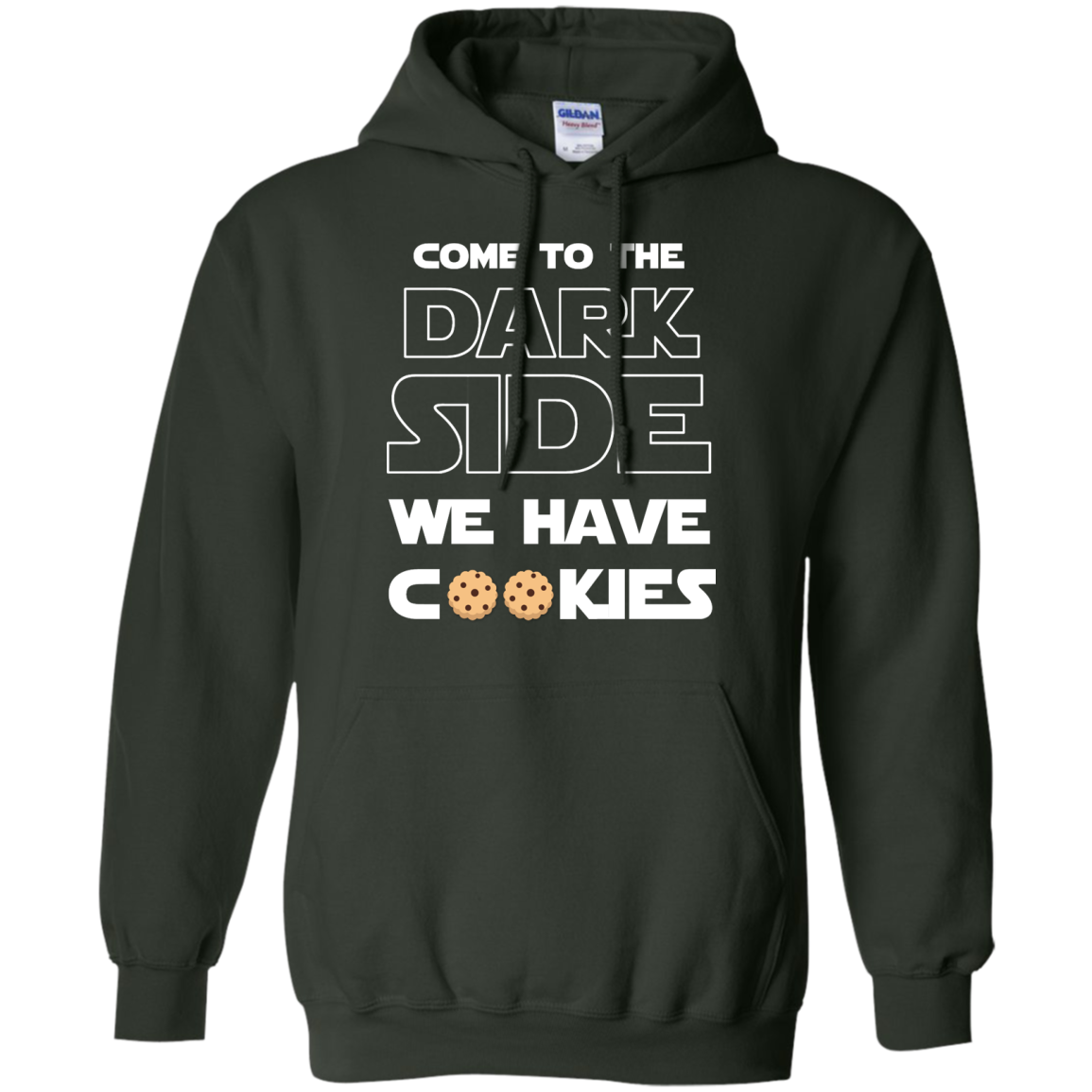 image 928px Star Wars: Come To The Dark Side We Have Cookies T Shirt
