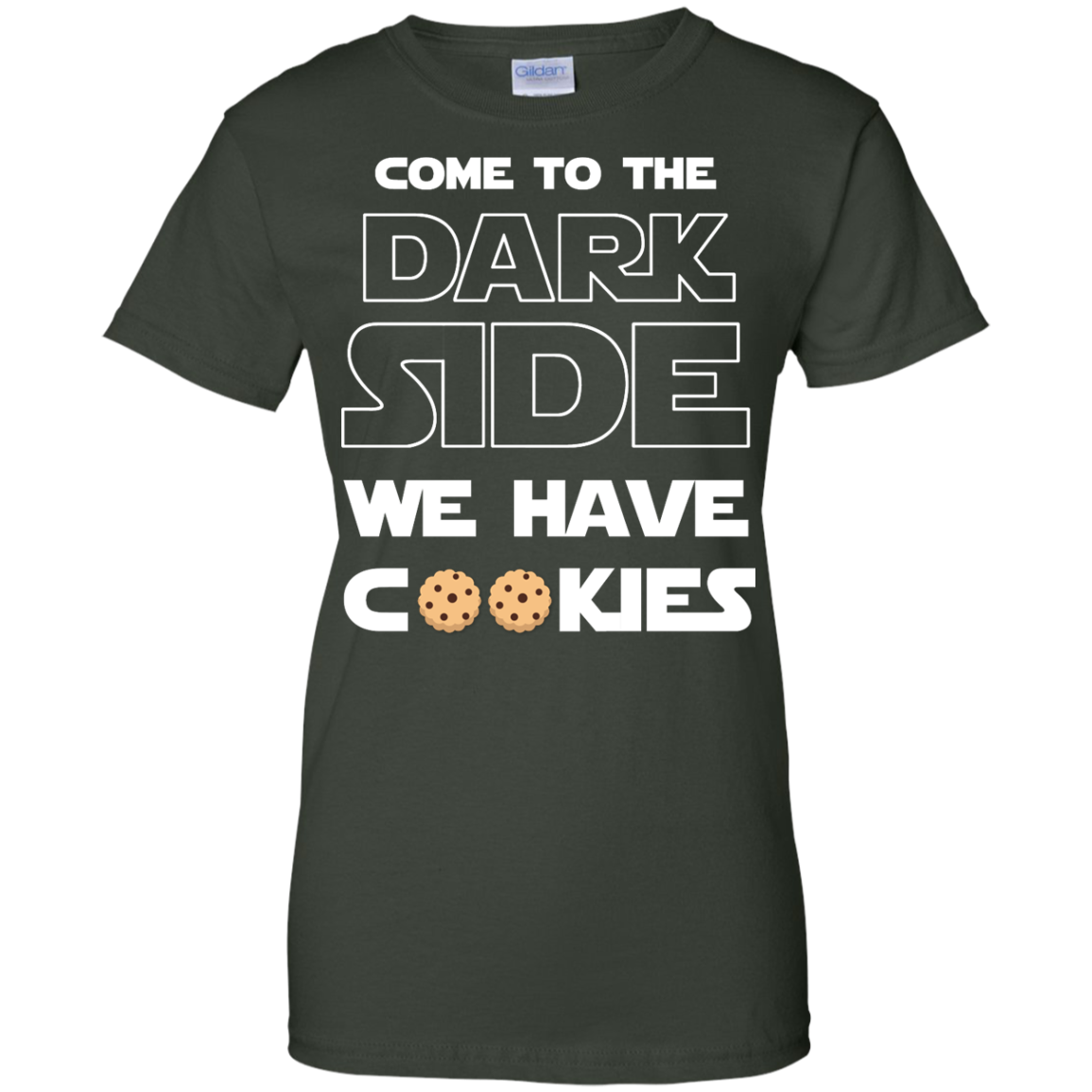 image 931px Star Wars: Come To The Dark Side We Have Cookies T Shirt