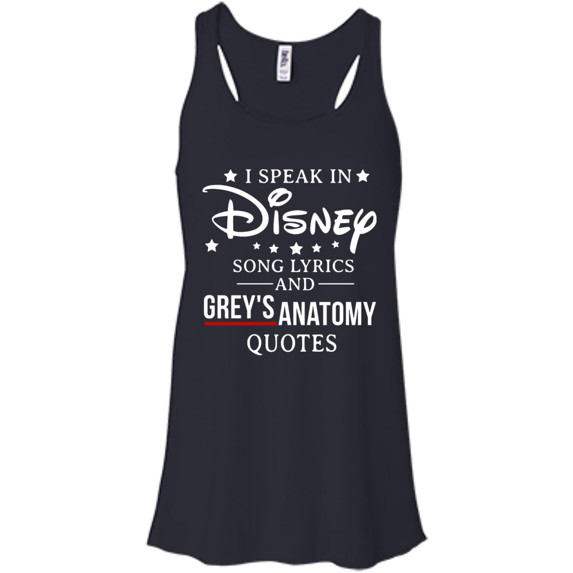 image 937px I speak in Disney song lyrics and Grey's Anatomy quotes T Shirt
