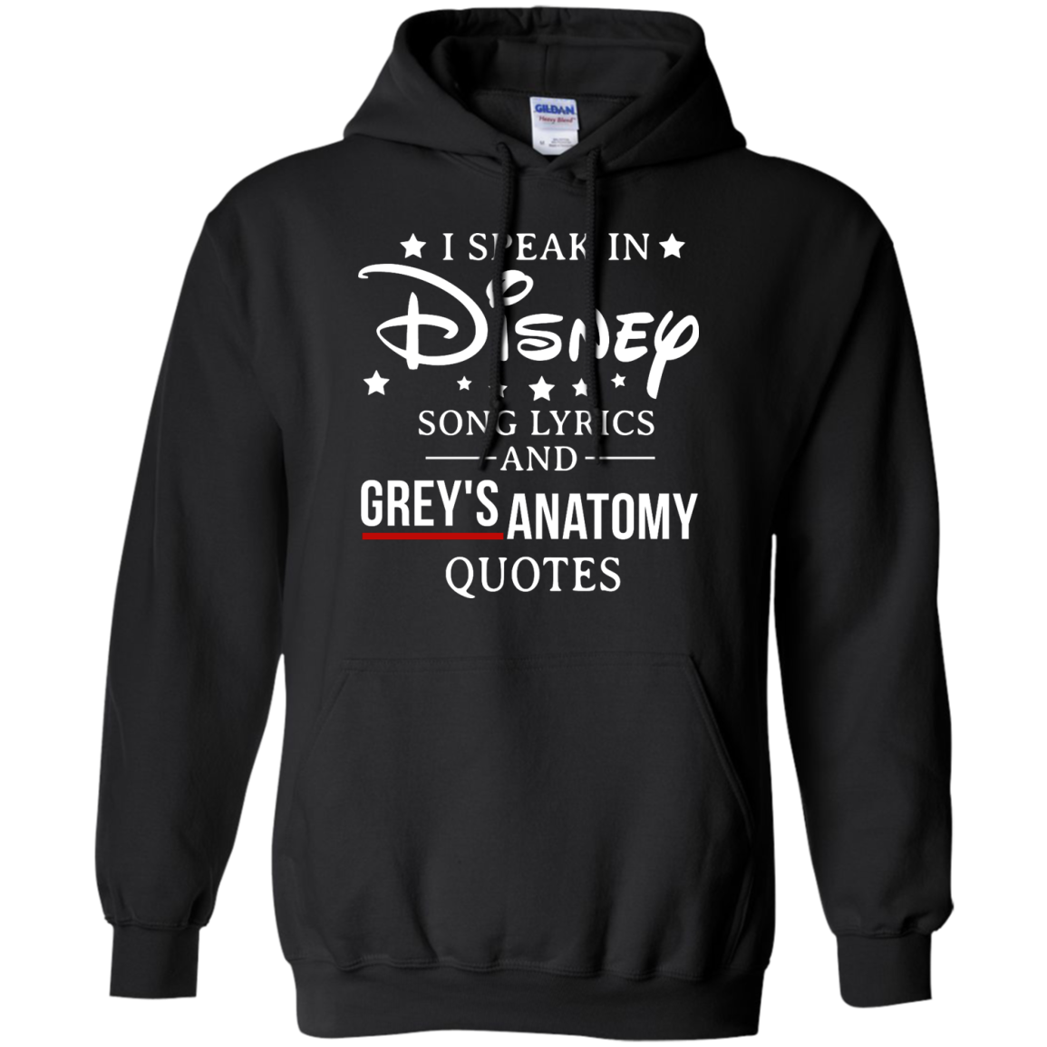 image 938px I speak in Disney song lyrics and Grey's Anatomy quotes T Shirt
