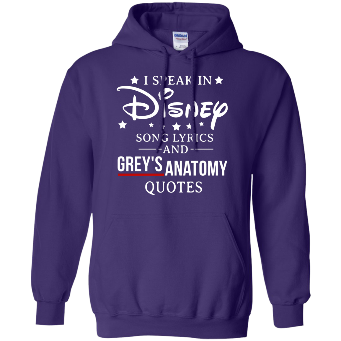 image 940px I speak in Disney song lyrics and Grey's Anatomy quotes T Shirt