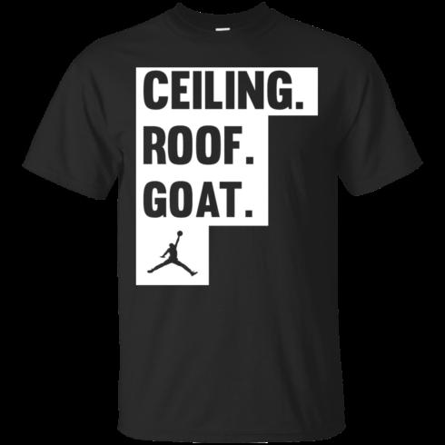 image 944 490x490px Jordan: Ceiling Roof Goat T Shirt, Hoodies, Tank