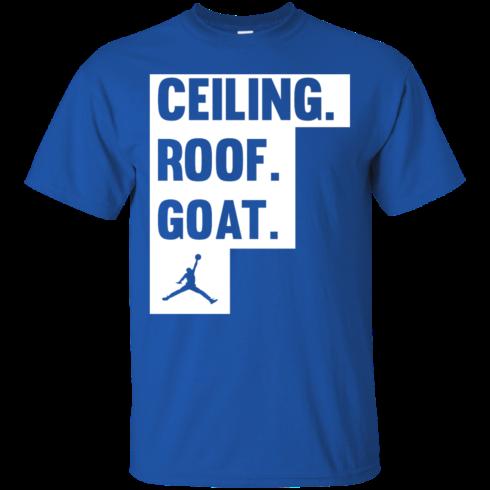 image 945 490x490px Jordan: Ceiling Roof Goat T Shirt, Hoodies, Tank
