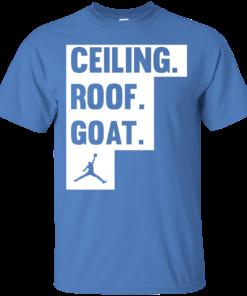image 946 247x296px Jordan: Ceiling Roof Goat T Shirt, Hoodies, Tank