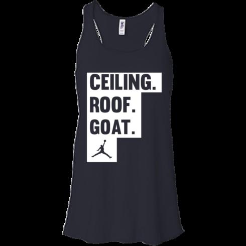 image 947 490x490px Jordan: Ceiling Roof Goat T Shirt, Hoodies, Tank