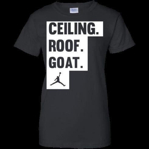 image 952 490x490px Jordan: Ceiling Roof Goat T Shirt, Hoodies, Tank