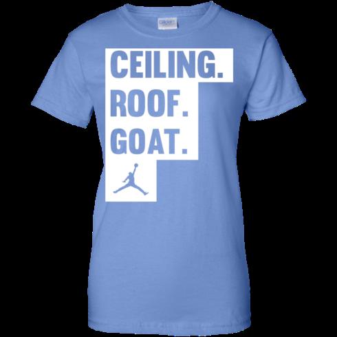 image 953 490x490px Jordan: Ceiling Roof Goat T Shirt, Hoodies, Tank
