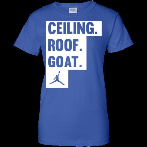 image 954 490x490px Jordan: Ceiling Roof Goat T Shirt, Hoodies, Tank