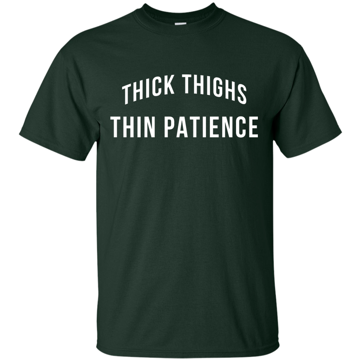 image 97px Thick Thighs Thin Patience T Shirt, Hoodies & Tank Top