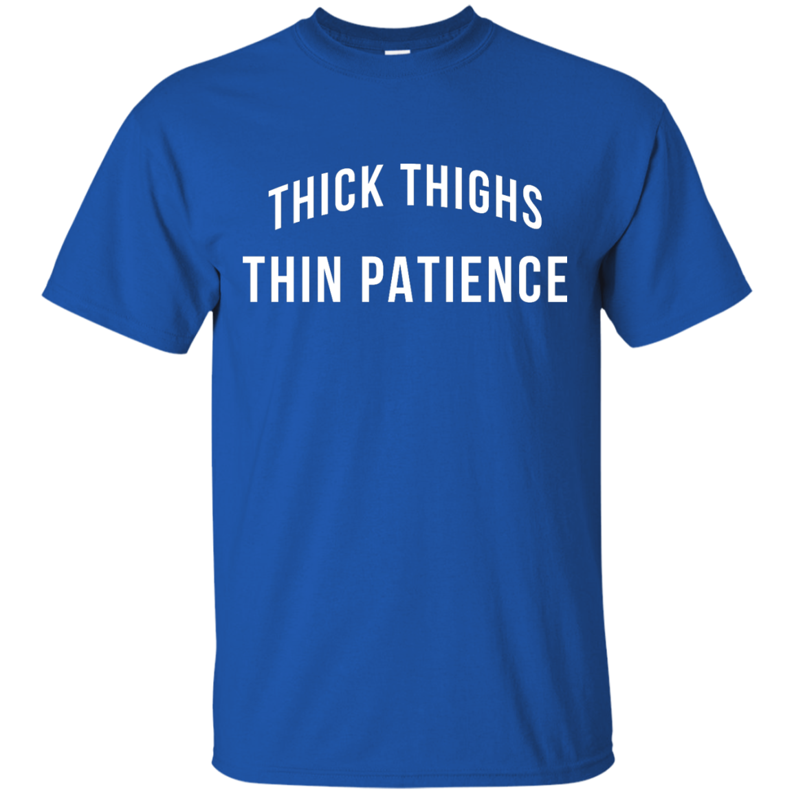 image 98px Thick Thighs Thin Patience T Shirt, Hoodies & Tank Top