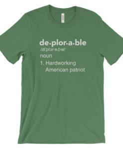 mockup 72526584 247x296px Deplorable Definition: Hardworking American Patriot Unisex T shirt