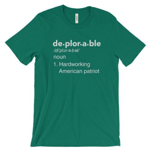 mockup d4b6682f 490x490px Deplorable Definition: Hardworking American Patriot Unisex T shirt
