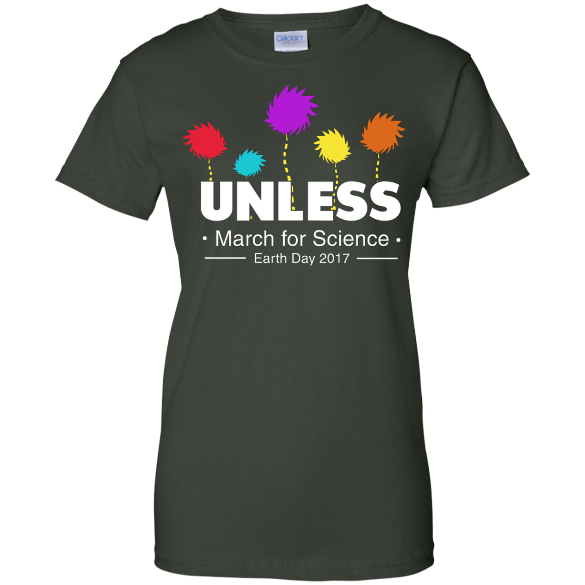 image 10px Tom Hanks: Unless, March For Science 2017 T Shirt
