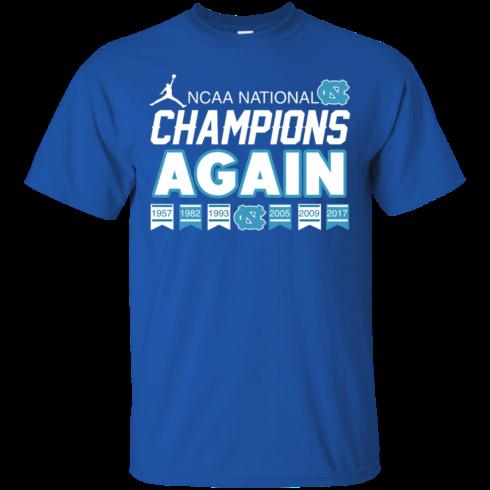 image 103 490x490px UNC 2017 Champions Again T Shirts & Hoodies