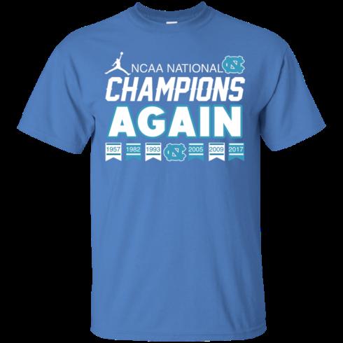image 104 490x490px UNC 2017 Champions Again T Shirts & Hoodies