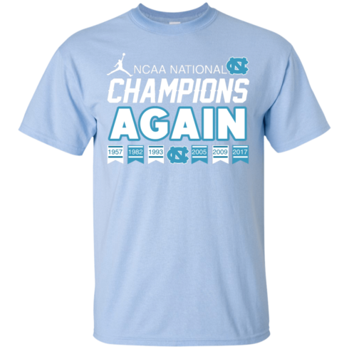 image 105 490x490px UNC 2017 Champions Again T Shirts & Hoodies