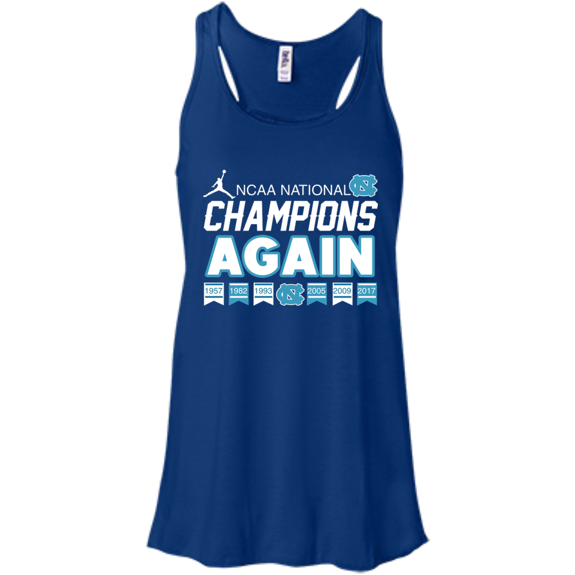 image 106px UNC 2017 Champions Again T Shirts & Hoodies
