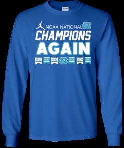 image 107 247x296px UNC 2017 Champions Again T Shirts & Hoodies