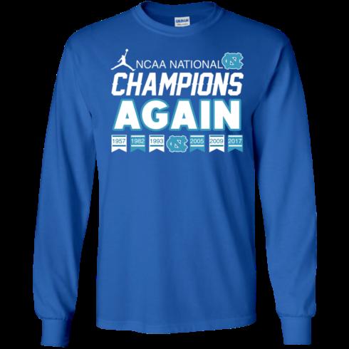 image 107 490x490px UNC 2017 Champions Again T Shirts & Hoodies