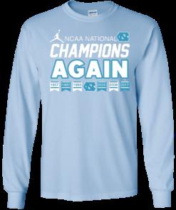 image 108 247x296px UNC 2017 Champions Again T Shirts & Hoodies