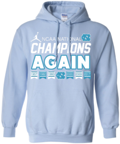 image 109 247x296px UNC 2017 Champions Again T Shirts & Hoodies