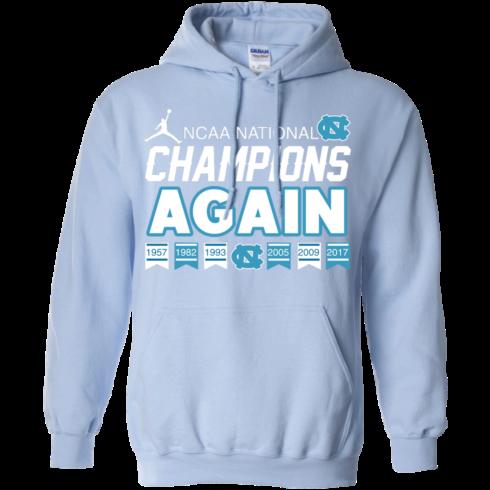 image 109 490x490px UNC 2017 Champions Again T Shirts & Hoodies