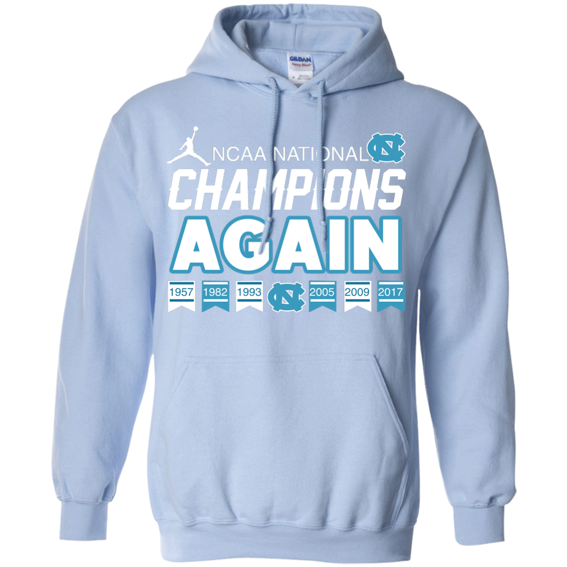 image 109px UNC 2017 Champions Again T Shirts & Hoodies