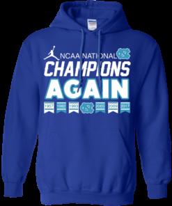 image 110 247x296px UNC 2017 Champions Again T Shirts & Hoodies