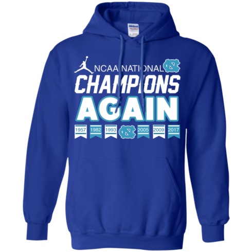 image 110 490x490px UNC 2017 Champions Again T Shirts & Hoodies