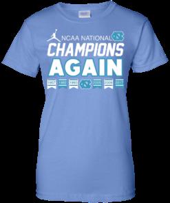image 111 247x296px UNC 2017 Champions Again T Shirts & Hoodies