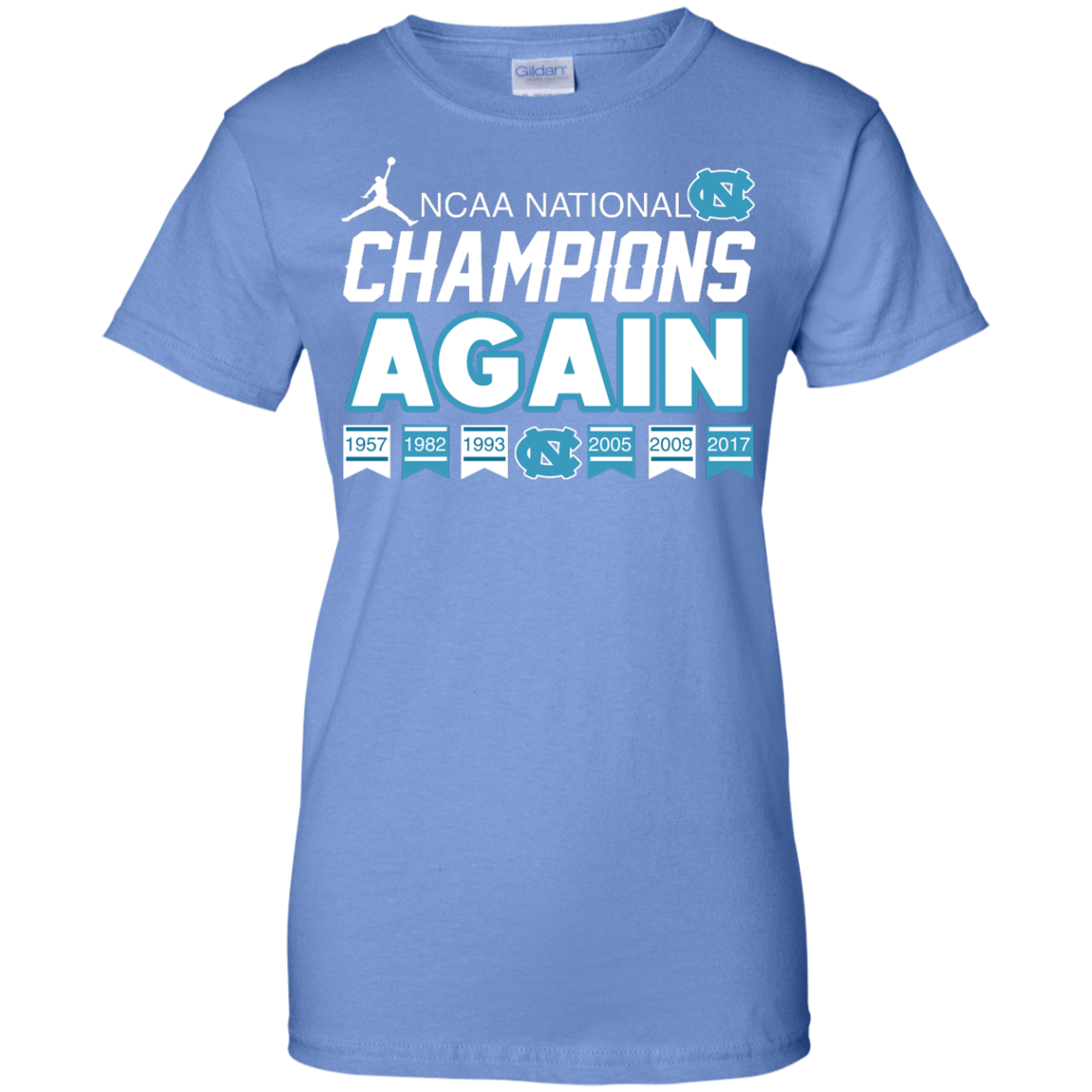 image 111px UNC 2017 Champions Again T Shirts & Hoodies