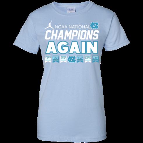 image 112 490x490px UNC 2017 Champions Again T Shirts & Hoodies