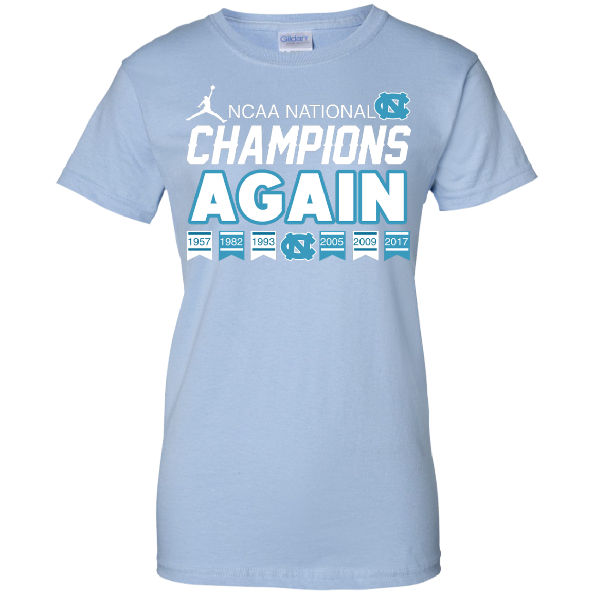 image 112px UNC 2017 Champions Again T Shirts & Hoodies