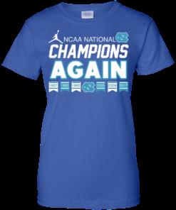image 113 247x296px UNC 2017 Champions Again T Shirts & Hoodies