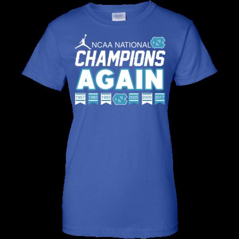 image 113 490x490px UNC 2017 Champions Again T Shirts & Hoodies