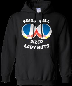 image 131 247x296px Beach Ball Sized Lady Nuts T Shirts & Hoodies