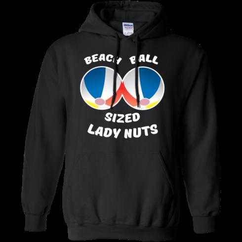 image 131 490x490px Beach Ball Sized Lady Nuts T Shirts & Hoodies