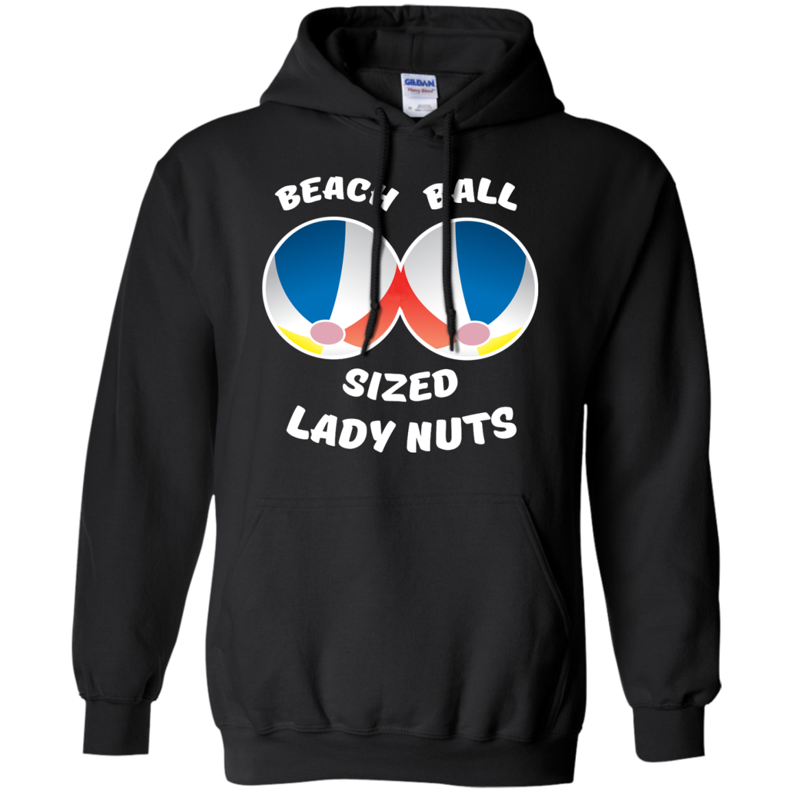 image 131px Beach Ball Sized Lady Nuts T Shirts & Hoodies