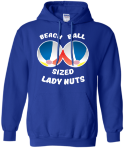 image 132 247x296px Beach Ball Sized Lady Nuts T Shirts & Hoodies