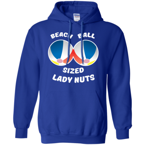 image 132 490x490px Beach Ball Sized Lady Nuts T Shirts & Hoodies